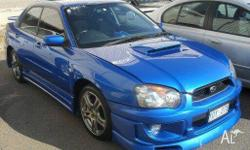 SUBARU, IMPREZA, 2005, 0, Blue, SEDAN, PETROL, MANUAL,
