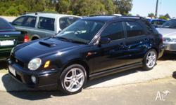 SUBARU,IMPREZA,MY01,2001, AWD, BLACK, 5D HATCHBACK,
