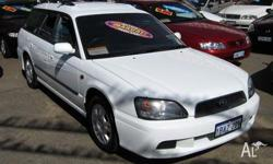 SUBARU,LIBERTY,2002, 4D WAGON, 2, 4cyl, 5 SP MANUAL,