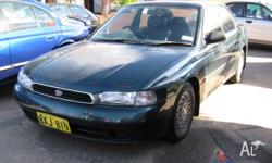 SUBARU,LIBERTY,1994, 4D SEDAN, 2.2, 4cyl, 4 SP