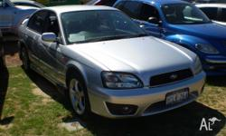 SUBARU, LIBERTY, MY02, 2002, AWD, SILVER, 4D SEDAN,