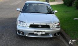 Subaru Liberty Sedan 2002 RX 2.5 Auto Top of the Range,