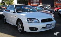 SUBARU,LIBERTY,2001, 4D SEDAN, 2.5, 4cyl, 4 SP