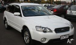 SUBARU, Outback, 4GEN MY04, 2004, Four Wheel Drive,