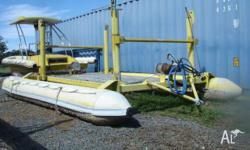 Submersible Dive Platform - Inflatable Floats, Water