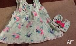Baby girl 3/6 month target dress. In excellent