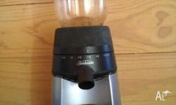 Sunbeam Conical Burr Grinder EM0450 Conical burr design