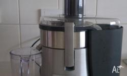 Sunbeam Cafe Series Juice Extractor Clean and in good