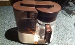 12 cup filter coffee machine from sunbeem not needed