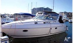 SUNRUNNER 33, 2005, model, 315hp Yanmar diesel, trim