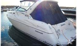 SUNRUNNER 33, 2002, model, 2x 4.3L 220hp Mercruisers,