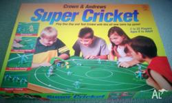 Here is a box set of Crown & Andrews Super Cricket,