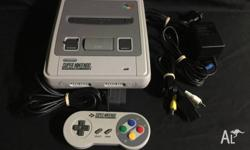 The Super Nintendo (SNES) comes with 1 controller, A�V