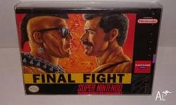 NTSC Super Nintendo Final Fight - Brand New and factory
