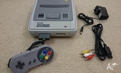 Selling my spare Super Nintendo consoles. Comes with 1