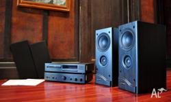 THIS WONDERFUL STEREO SYSTEM IS A GEM!! BRILLIANT SOUND