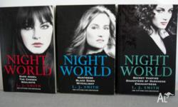 vampires, werewolf, really good reading. only read once