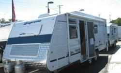 SUPREME SPIRIT 2100 TOURER, 2010, WHITE, Caravan, 6.4,