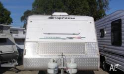 SUPREME TERRITORY OFFROAD, Caravan, double bed, shower,