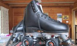 Brand new SURE GRIP artistic skates from U.S. Black 73