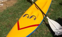 Surf ski for the warmer weather. Good condition, with