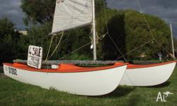 SURFCAT, Windrush 12 (4mts) . great boat, runs well...