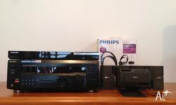 Home theatre equipment. Sony 5.1 channel amp, Samsung