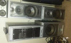 Selling my JVC stereo system. I have used it for the