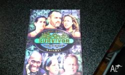 Great for Survivor fans! First season of Survivor.