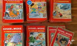 In good condition, 144 Belgian/Dutch Suske and Wiske