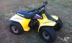 Selling Suzuki Lt 50cc Quad, as kids are to big for it