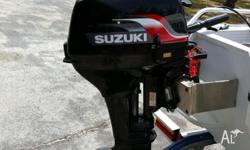 Suzuki 9.9 Outboard in as new condition. Has only done