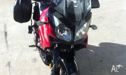 Up for sale is my Suzuki Dl 1000 VSTROM. Bike is in