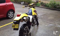 Suzuki DRZ-250 four stroke Excellent Condition - well