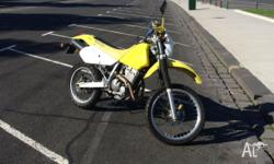 I'm selling my drz 250...I don't need it anymore,and in