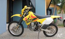 Great all rounder up for sale. My suzuki DRZ 400 has