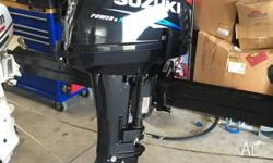 "Suzuki DT15, 2 stroke 15hp Short (15"") This motor is"