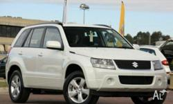 SUZUKI,GRAND VITARA,JT MY08 UPGRADE,2010, 4x4, White,