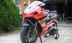 For sale, GSXR1000 in excellent condition, well looked