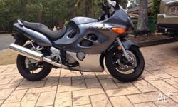 2005 gsx750f in good condition. Registered to March
