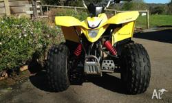 Quad Bike in very good condition, kids out grown bike.