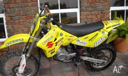 Great Motorcross Bike in very good condition. Purchased