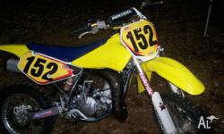 Suzuki RM 85 This bike is a 2007 model bought new in