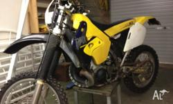 Suzuki RMX250 99 model able to be road registered 2