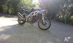 2003 SV650, 72,000 on the clock, mechanically great,