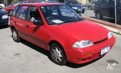 SUZUKI,SWIFT,1995, 5dr HATCHBACK, 1.3, 4cyl, 5sp