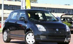 SUZUKI, SWIFT, EZ 07 UPDATE, 2010, FWD, Bluish Black