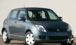 SUZUKI, SWIFT, EZ 07 UPDATE, 2010, FWD, Azure Grey,