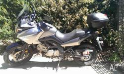 Suzuki V-Strom 650 (2007 model) - ABS brakes - centre