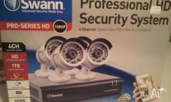For sale is:- Swann Professional HD Security System -